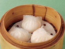 10 Fresh shrimp dumplings